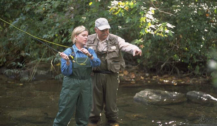 Brasstown Valley Resort and Spa - Activities - Fly Fishing
