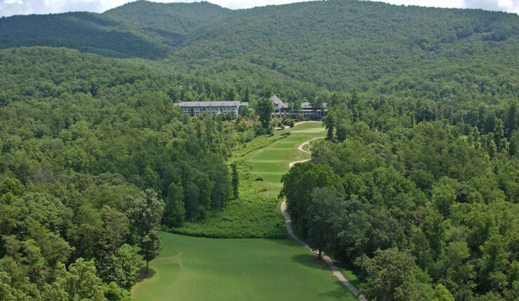 brasstown valley golf arial course