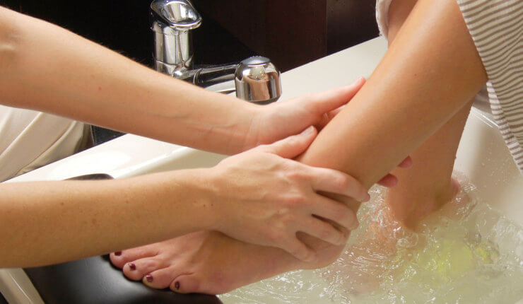 brasstown valley spa foot massage