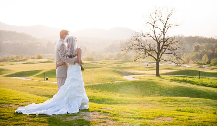 brasstown valley weddings couple course