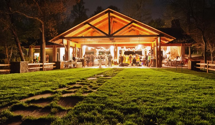 brasstown valley weddings night