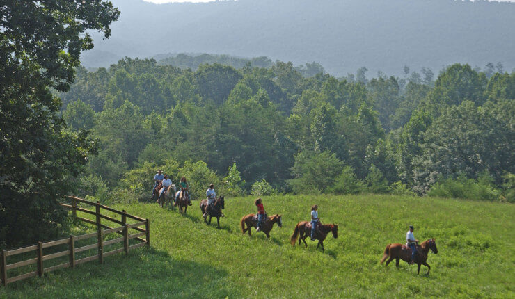 Brasstown Valley Resort and Spa - Activities - Stables - Horseback Riding