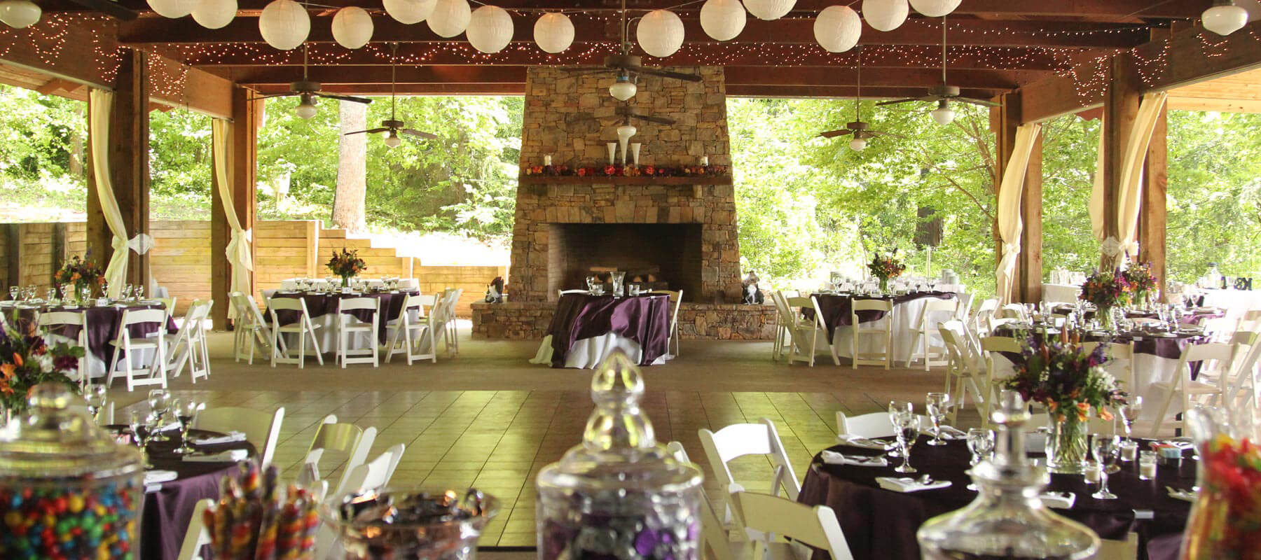 Brtown Valley Wedding Venues In Georgia Sunset Pavilion