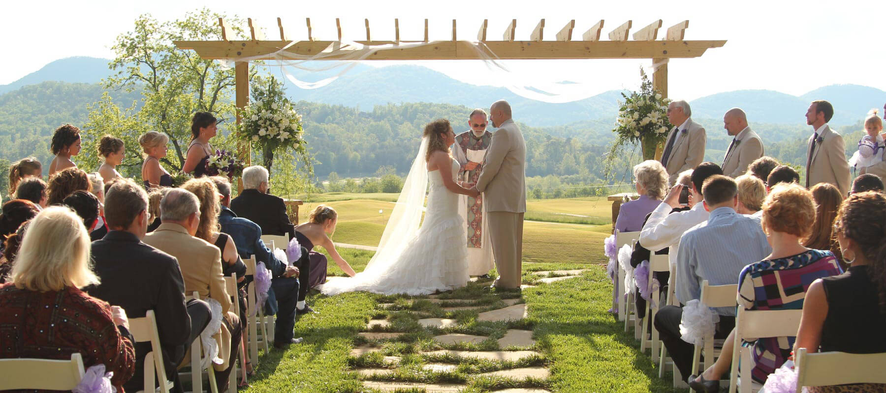 Brtown Valley Outdoor Wedding Venue Georgia Sunset Terrace