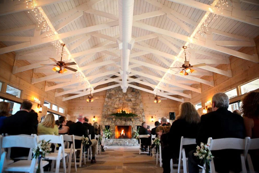 Brasstown Valley Wedding Venues Creek Side Pavilion