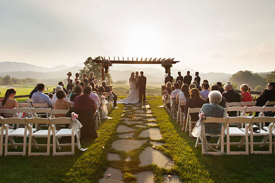 Brasstown Valley Wedding Venues Sunet Terrace