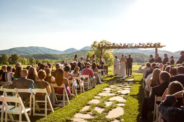 Perfect Blue Ridge Mountain Wedding Packages Venues