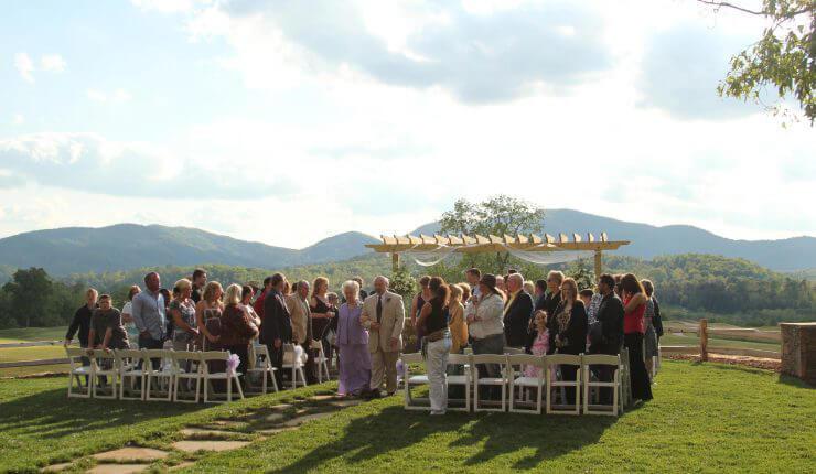 Brasstown Valley Weddings Wedding Venues Sunset Terrace 1