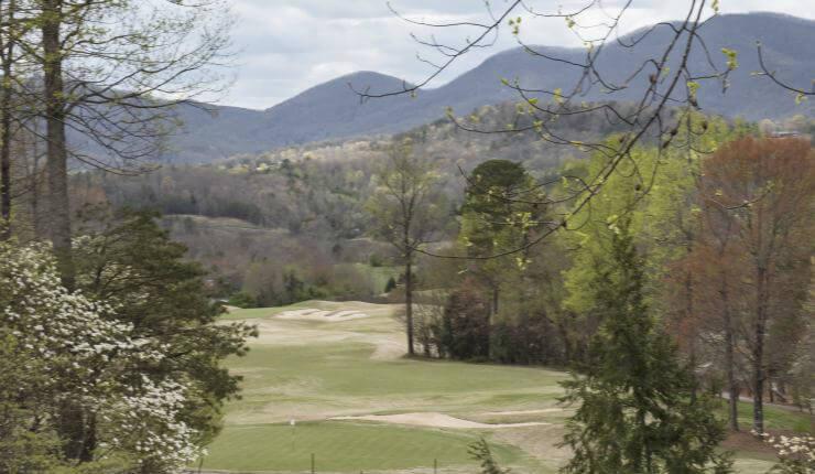 Golf Course off patio