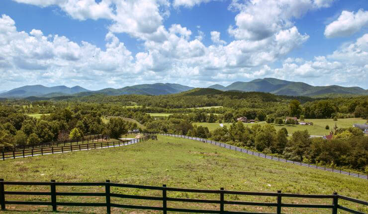 Pasture view from Overlook