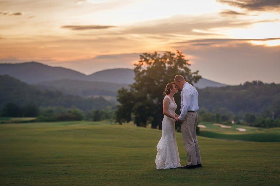 Brasstown wedding golfcourse