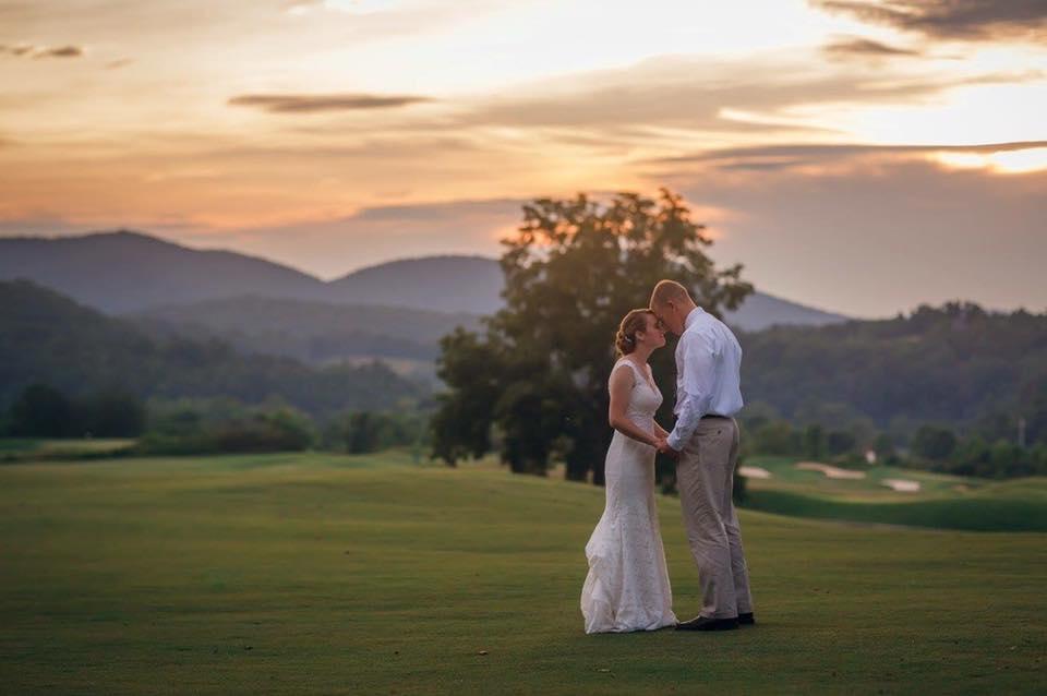 Brasstown wedding golfcourse