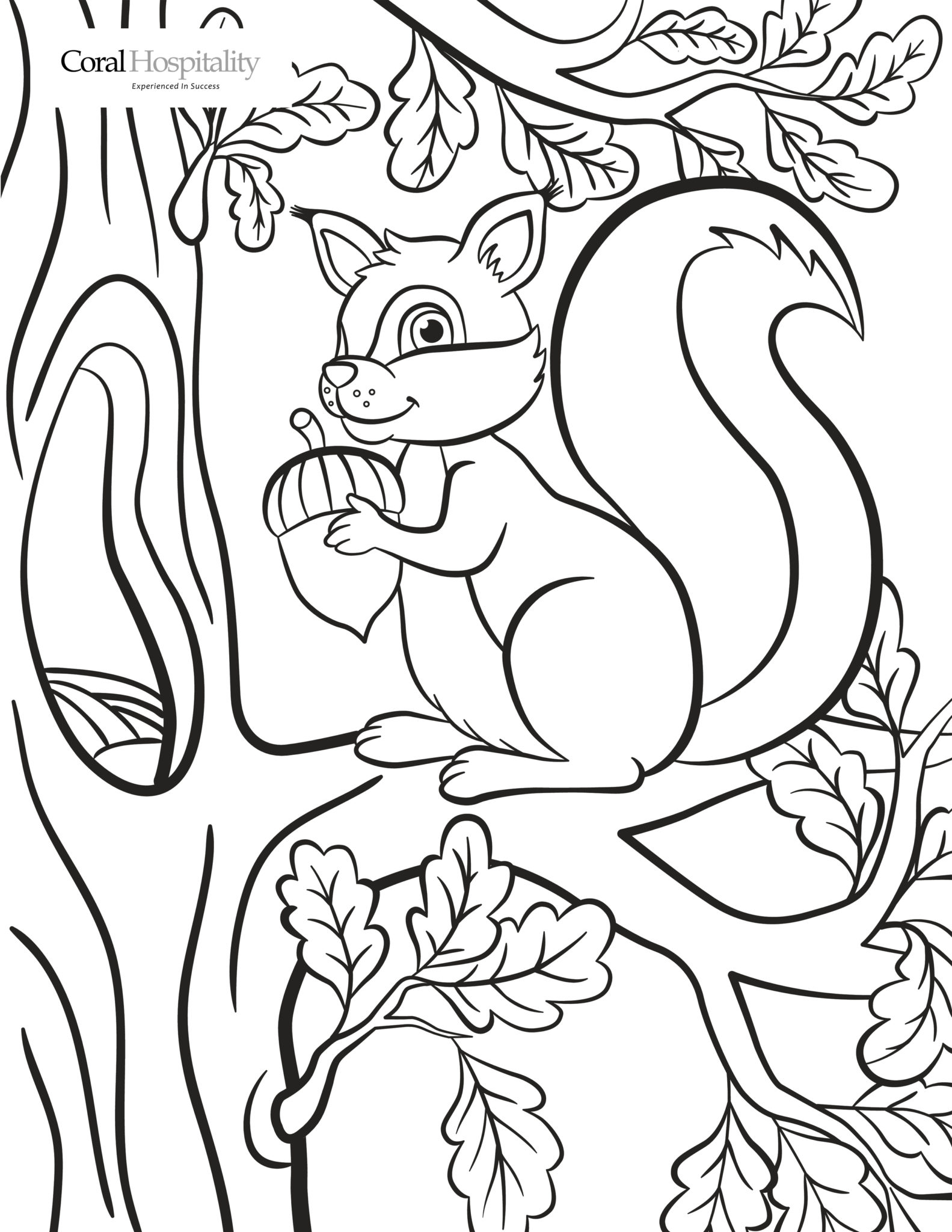 Coloring Squirrel